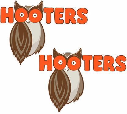 Picture of Hooters Decals / Stickers