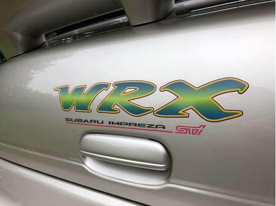 Picture of Subaru Impreza  STi rear Hatch Decal / Sticker