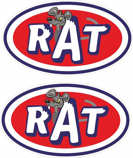Picture of Rat Decals / Stickers
