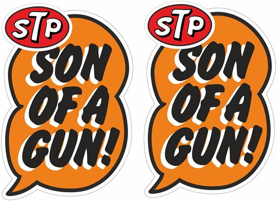 Picture of STP Decals / Stickers