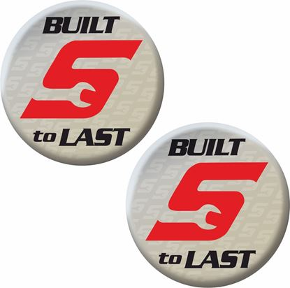 """Picture of Snap-On """"Built to Last"""" Decals / Stickers"""