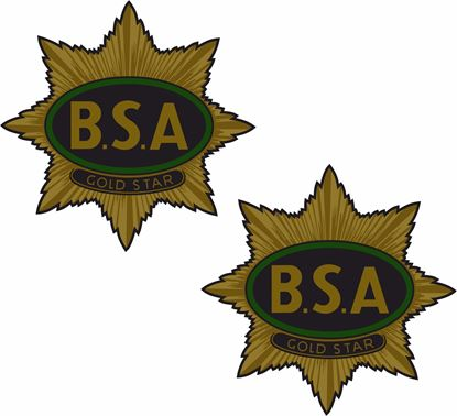 Picture of BSA Gold Star Decals / Stickers