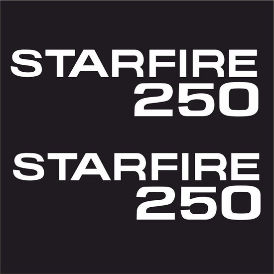 Picture of BSA Starfire 250 Decals  / Stickers