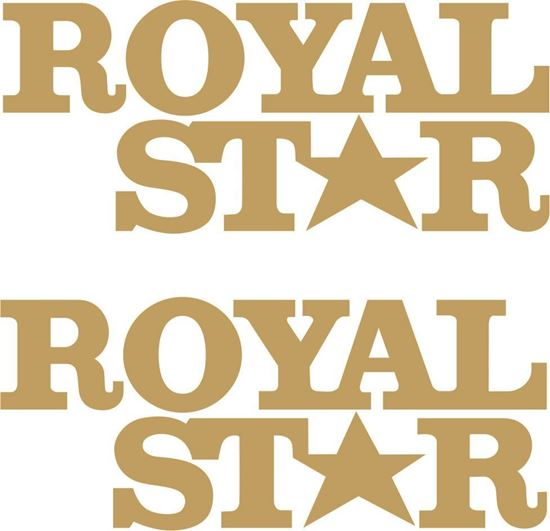 Picture of BSA Royal Star restoration Decals / Stickers