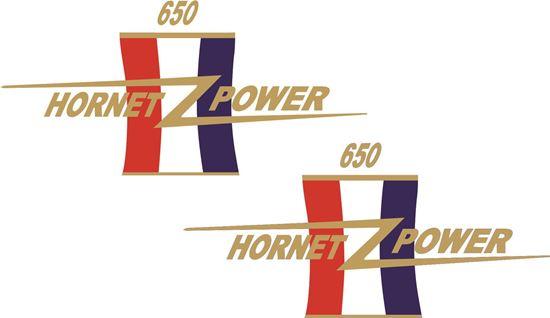 Picture of BSA Hornet Scrambler A65 Decals / Stickers
