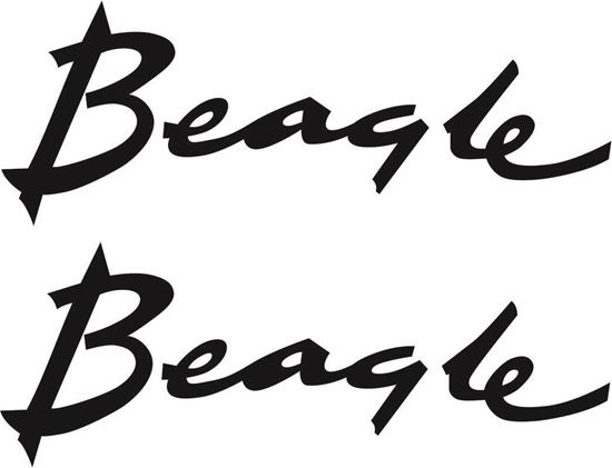 Picture of BSA Beagle Tank Decals  / Stickers