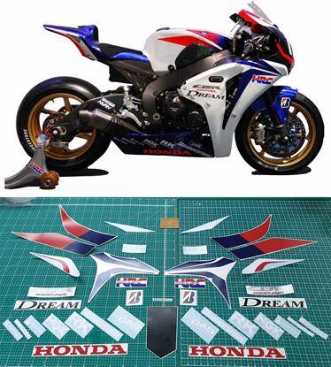 Picture of Honda CBR 1000RR SBK 8 Hours Suzuka race replica Decals / Stickers