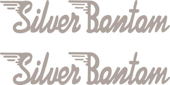 Picture of BSA Silver bantam restoration Decals / Stickers