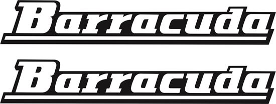 Picture of BSA Barracuda restoration Decals / Stickers