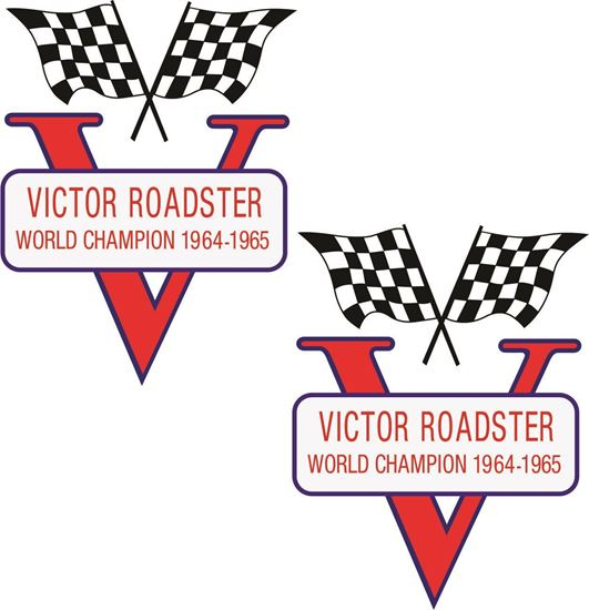 Picture of BSA Victor B44 Roadster Decals  / Stickers