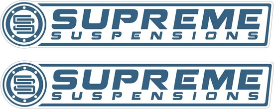 Picture of Supreme Suspensions Decals / Stickers