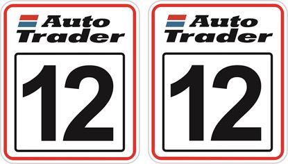 Picture of Auto Trader racing Door Numbers