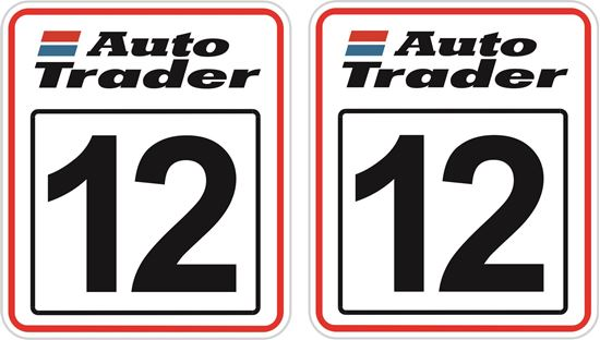 Picture of Auto Trader racing Door Numbers