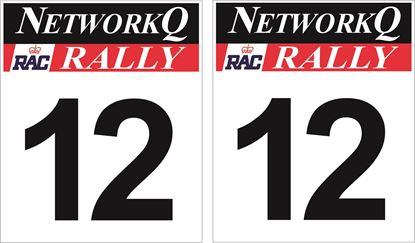 Picture of Vauxhall Network Q racing Door Numbers