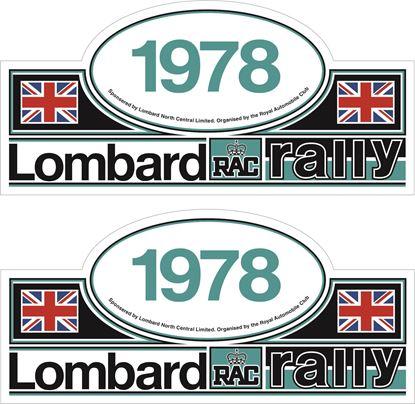 Picture of Lombard RAC Rally  Door Decals / Stickers