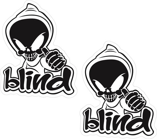 Picture of Blind Decals / Stickers
