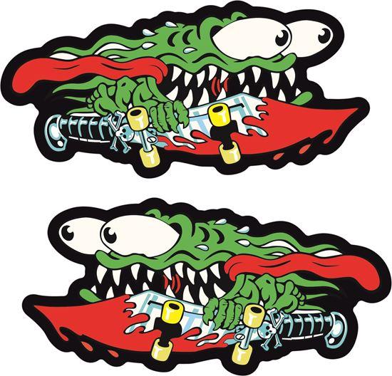 Picture of Santa Cruz Slasher Sword Decals / Stickers
