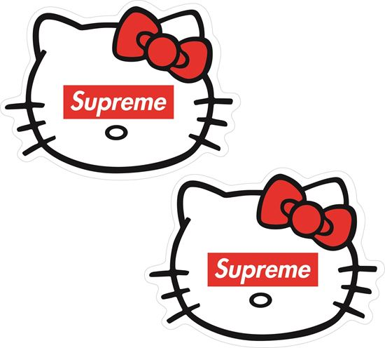 Picture of Supreme general panel Decals / Stickers