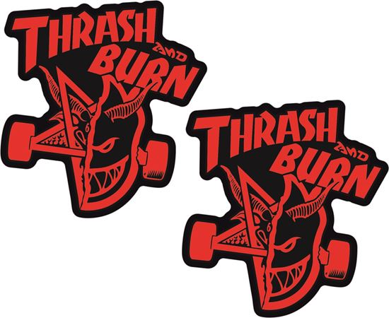 """Picture of Spitfire """"Thrash and Burn"""" general panel  Decals / Stickers"""