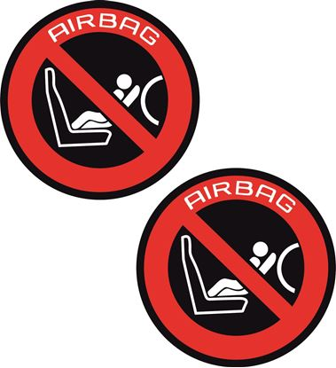 Picture of Airbag Stickers / Decals