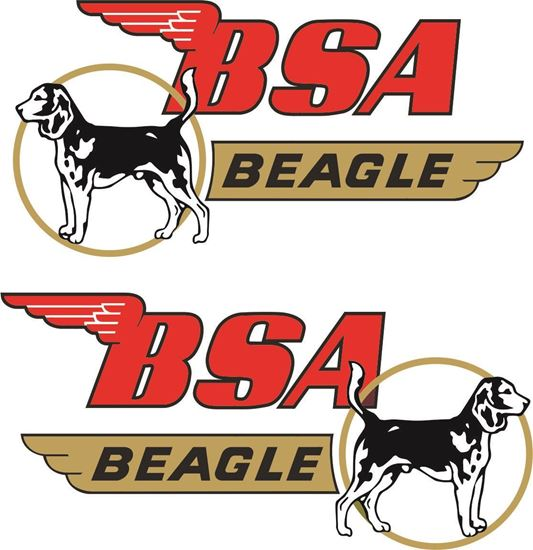 Picture of BSA Beagle Decals / Stickers