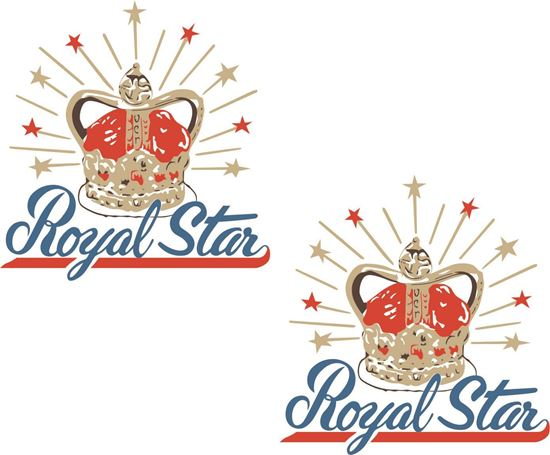 Picture of BSA Royal Star Decals / Stickers