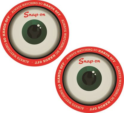 """Picture of Snap-On """"Always watching..."""" Decals / Stickers"""