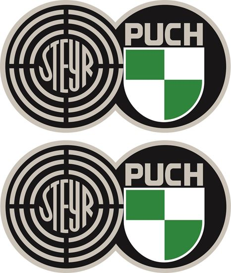 Picture of Steyr Puch Decals / Stickers