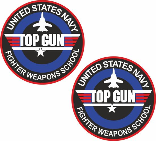 """Picture of """"Top Gun...""""  Decals / Stickers"""