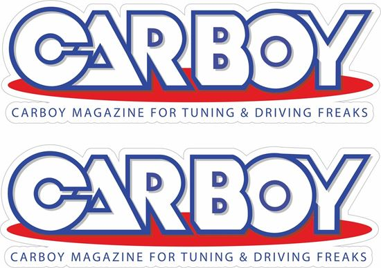 Picture of Car Boy Magazine  Decals / Stickers