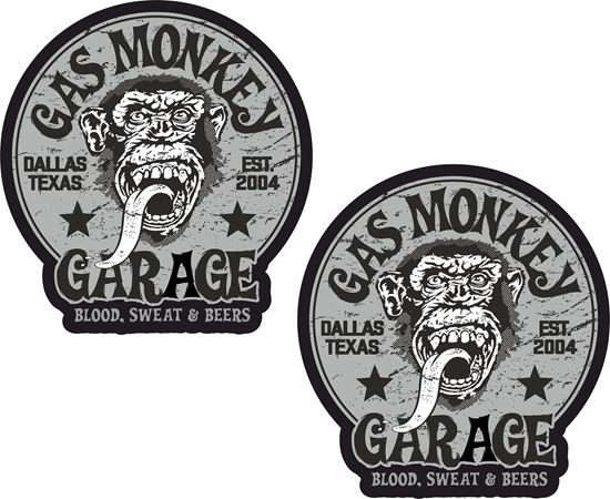 Picture of Gas Monkey Decals / Stickers