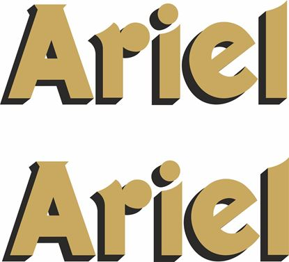 Picture of Ariel Decals / Stickers