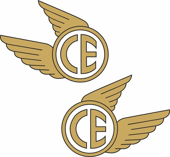 Picture of Coventry Eagle Decals / Stickers