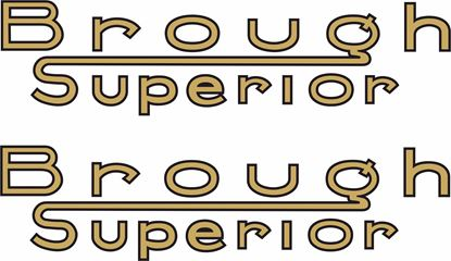 Picture of Brough Superior Decals / Stickers