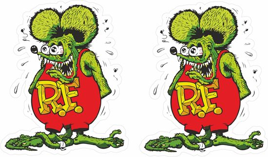 Picture of Rat Fink Decals / Stickers
