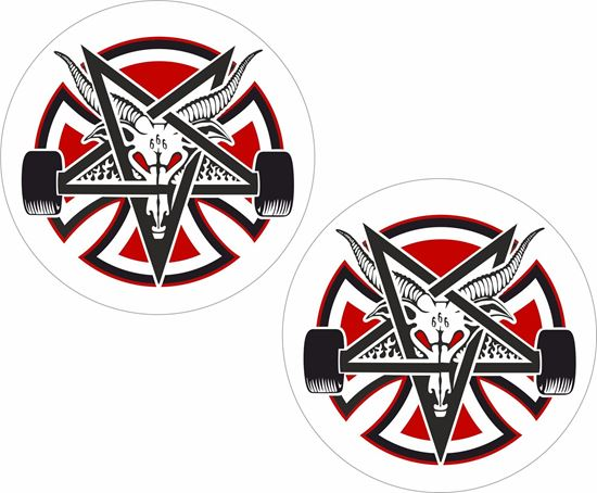 Picture of Thrasher Independent Decals / Stickers