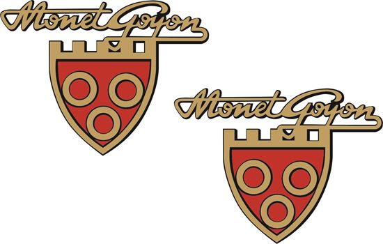 Picture of Monet Goyon Motorcycle Decals / Stickers