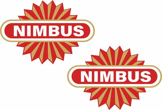 Picture of Nimbus Motorcycle Decals / Stickers