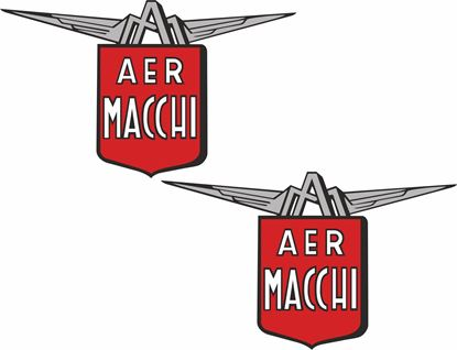 Picture of Aermacchi Motorcycle Decals / Stickers