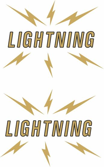 Picture of BSA A65 Lightning Rocket Decals  / Stickers