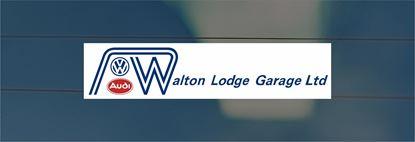 Picture of Walton Lodge Garage Ltd - Surrey Dealer rear glass Sticker