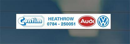 Picture of Contim Motors Ltd - Heathrow Dealer rear glass Sticker
