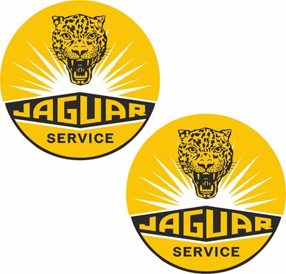 Picture of Jaguar Service Decals / Stickers