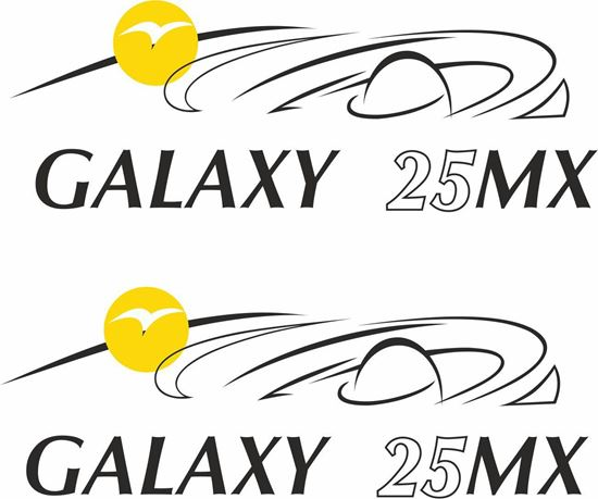 Picture of Pilote Galaxy 25 MX  Decals / Stickers