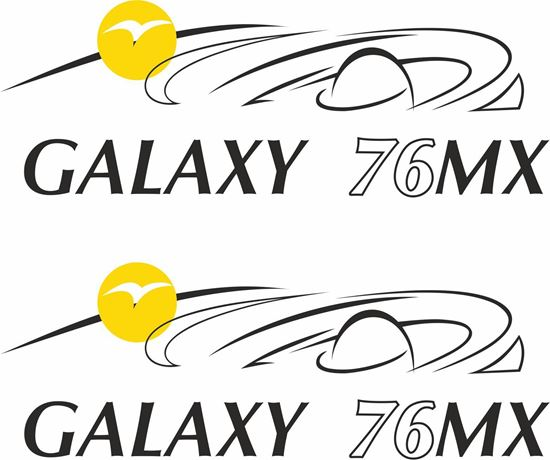 Picture of Pilote Galaxy 76 MX  Decals / Stickers