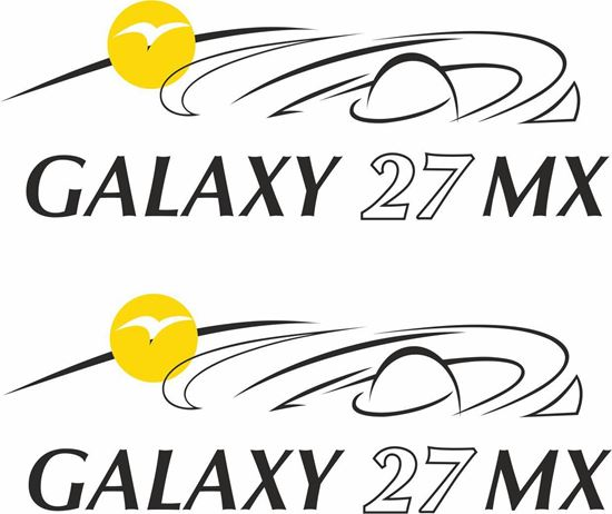 Picture of Pilote Galaxy 27 MX  Decals / Stickers