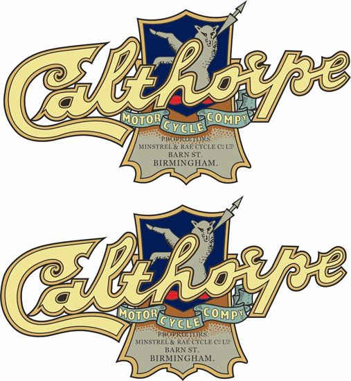 Picture of Calthorpe Motorcycle Decals / Stickers