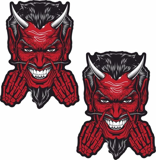 Picture of Devil general panel  Decals / Stickers
