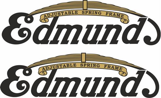 Picture of Edmunds Motorcycle Decals / Stickers