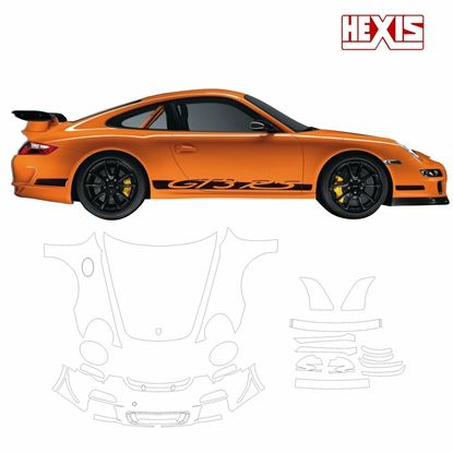 Picture of 911 / 997  2012 GT3 RS Pre Cut PPF Front and side protection kit